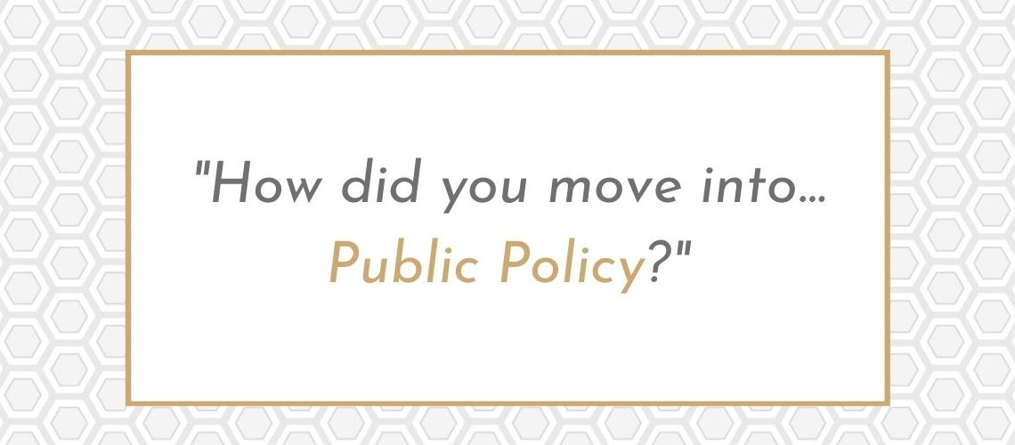career stories public policy
