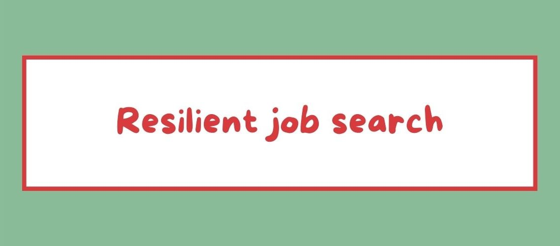 resilient job search